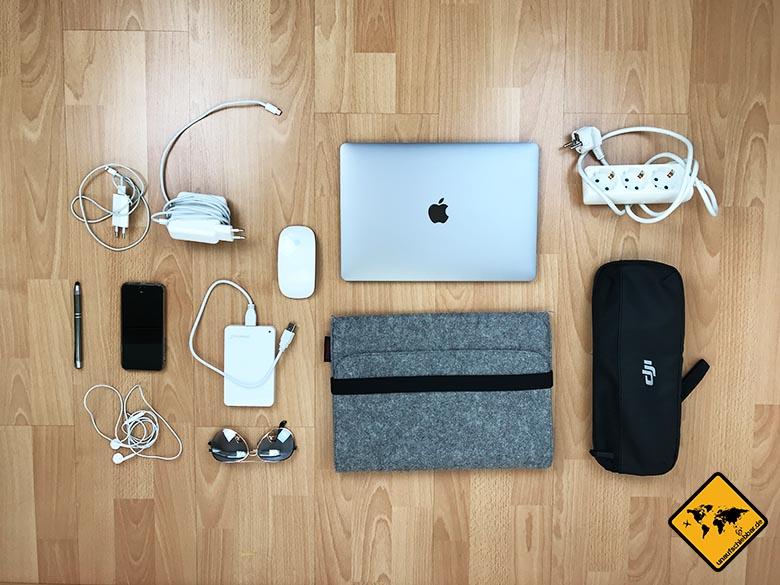 Kofferliste Elektronik