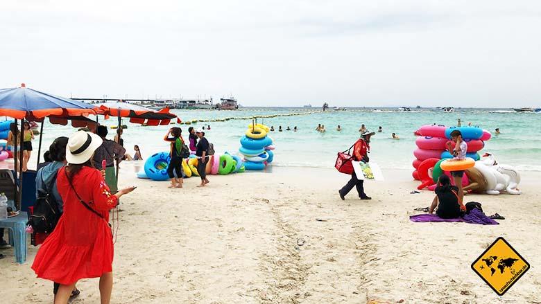 Koh Larn Beach Tawaen voll