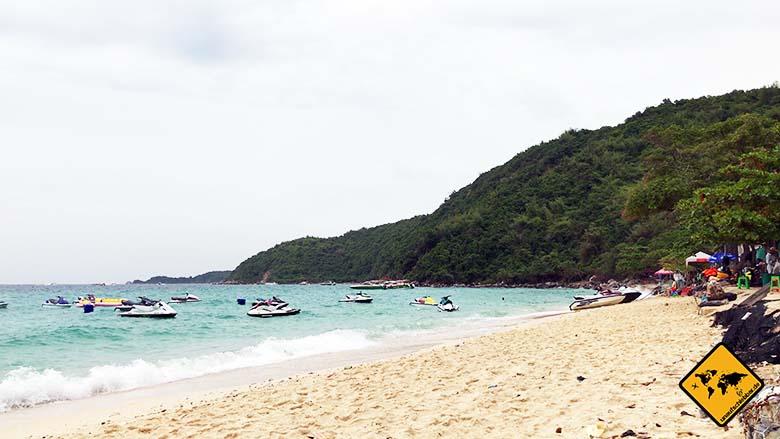 Koh Larn Beach Tong Lang Strand