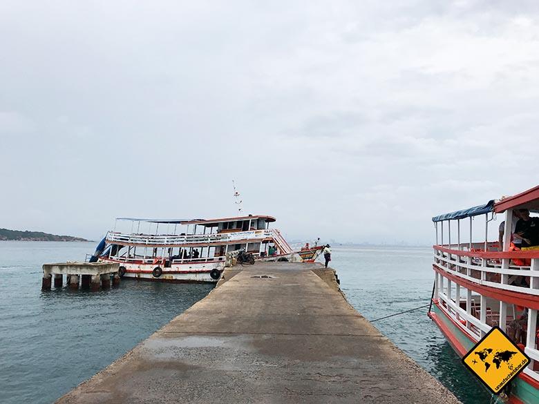 Koh Larn Island Ba Naan Pier