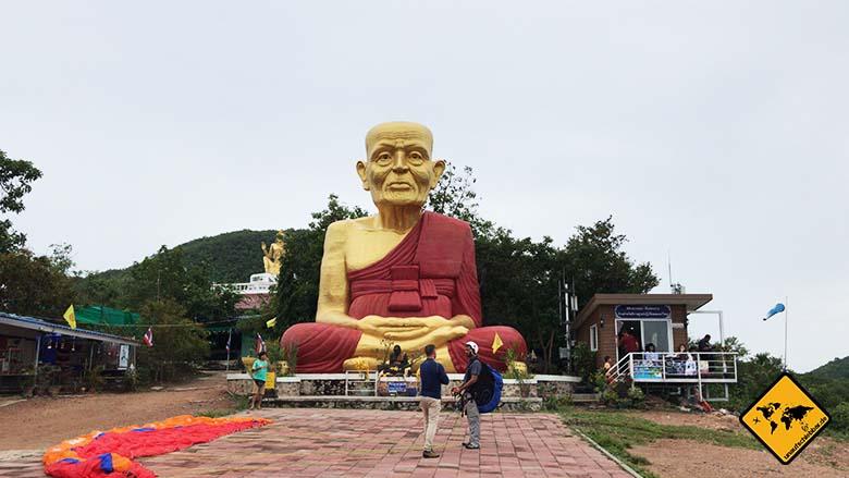 Koh Larn Island Buddha Footprint