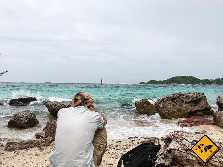 Koh Larn Island Had Ta Yai Beach Blick