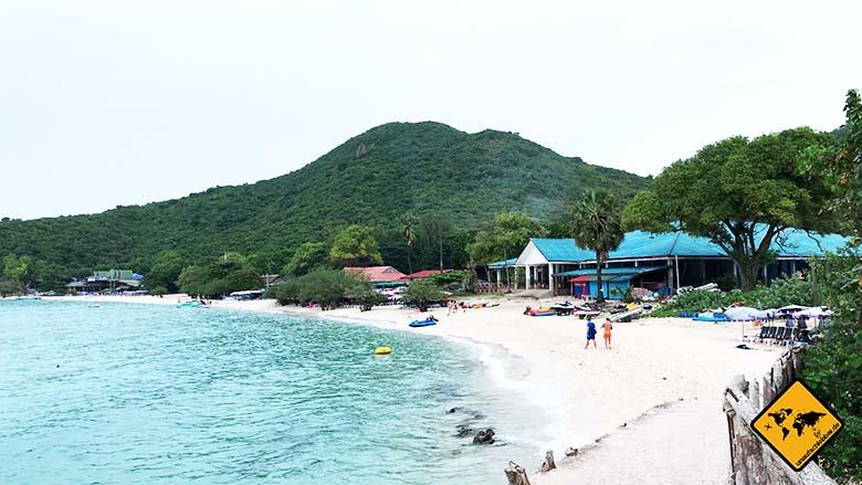 Koh Larn Island Tien Beach Bucht