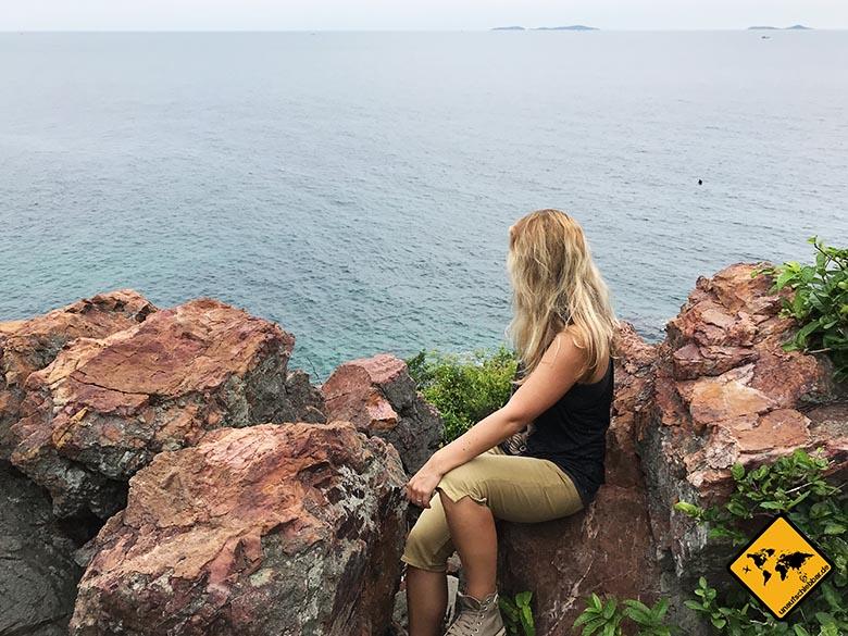 Koh Larn Thailand Samae Beach Ausblick