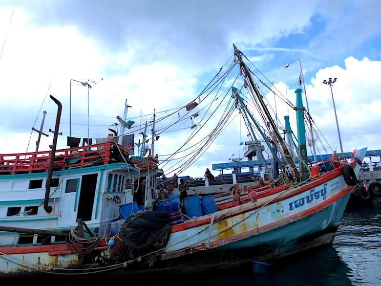 Koh Phangan Hafen