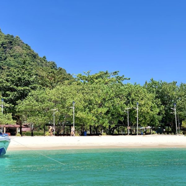 Koh Phi Phi Don vom Meer aus