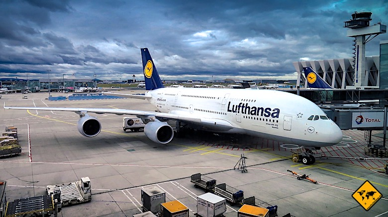Koh Samui Anreise Flugzeug Lufthansa