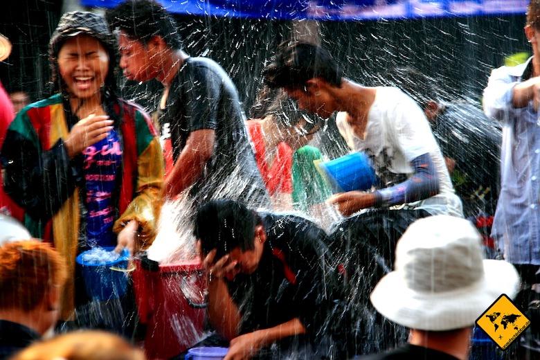 Koh Samui Attraktionen Songkran