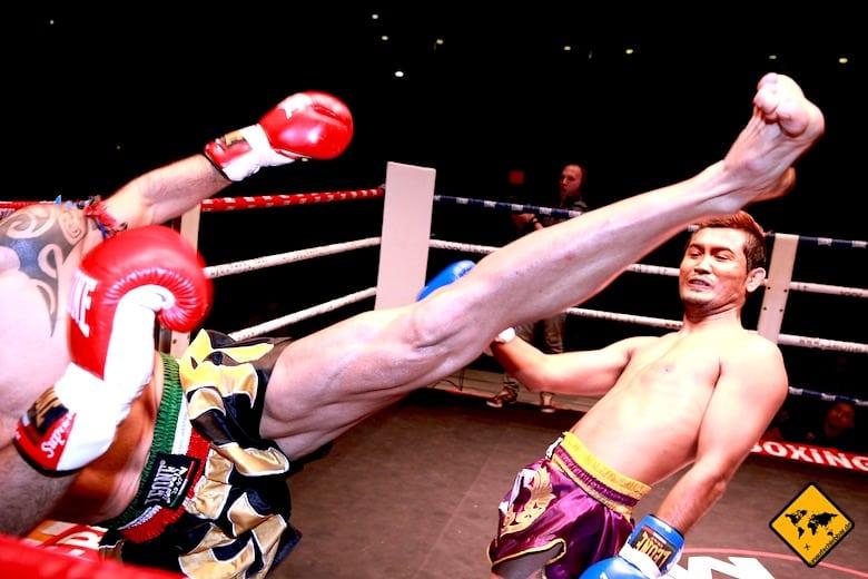 Koh Samui Attraktionen Thai Boxen