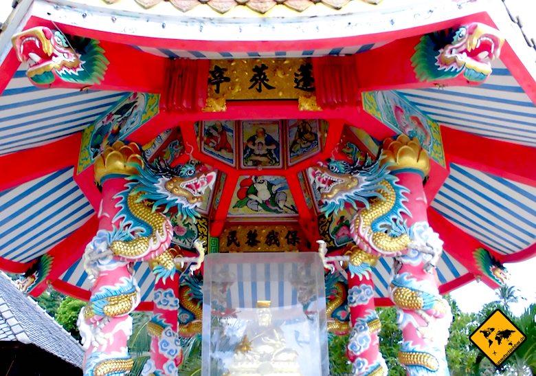 Koh Samui Attraktionen chinesische Tempel