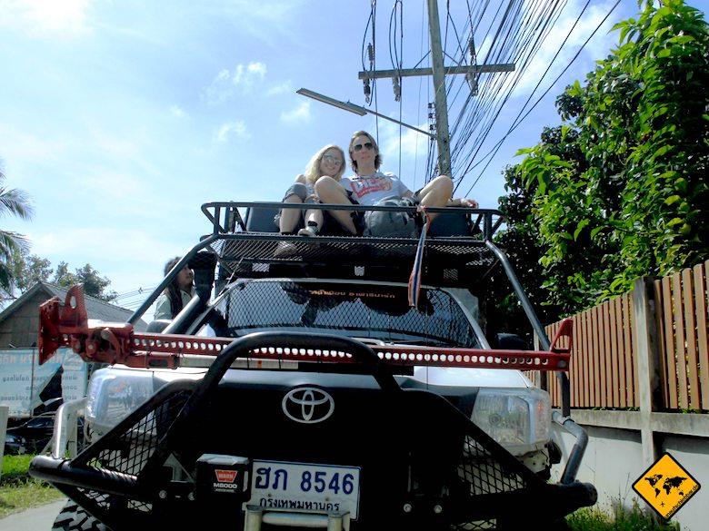 Koh Samui Geländewagen Safari