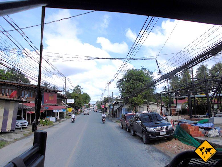 Koh Samui Küstenstraße