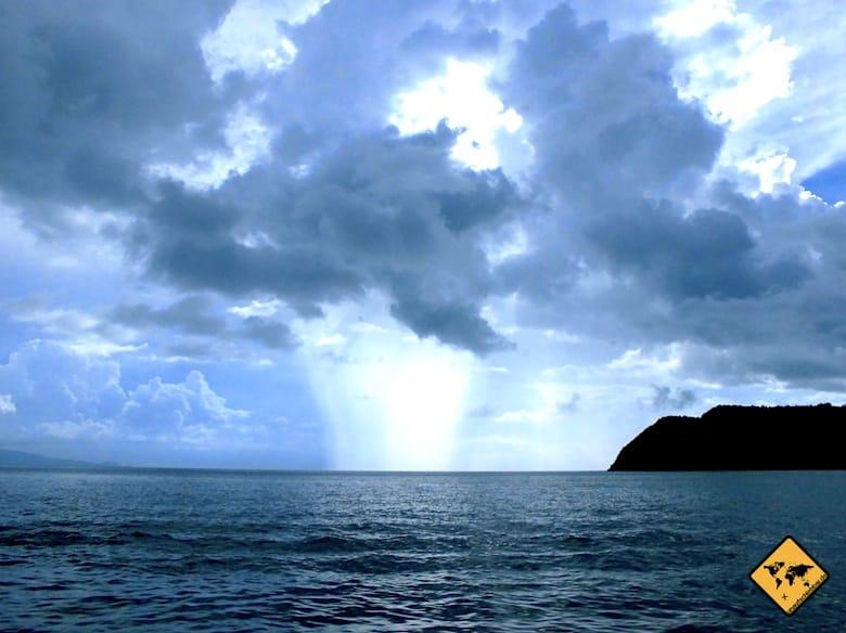 Koh Samui Regenzeit Wetterwechsel