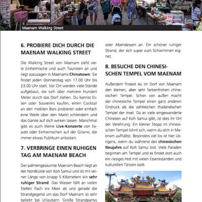 Koh Samui Reiseführer Inselguide Aktivitäten Beispiel 1