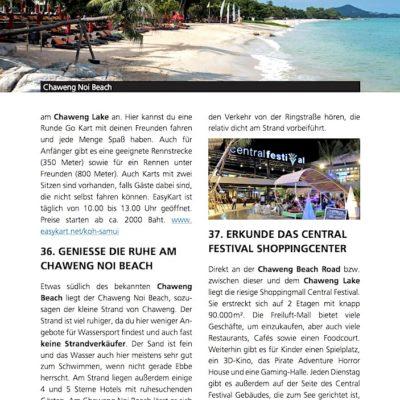 Koh Samui Reiseführer Inselguide Aktivitäten Beispiel 3
