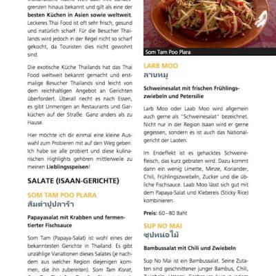Koh Samui Reiseführer Inselguide Essen 1