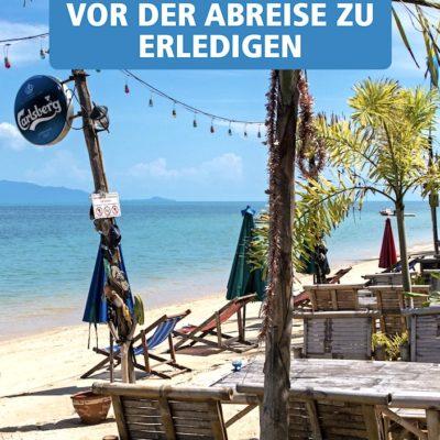 Koh Samui Reiseführer Inselguide Reisevorbereitung