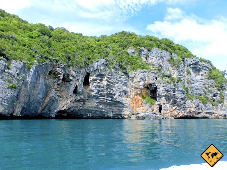 Koh Samui Sehenswürdigkeiten Ang Thong Marine Park