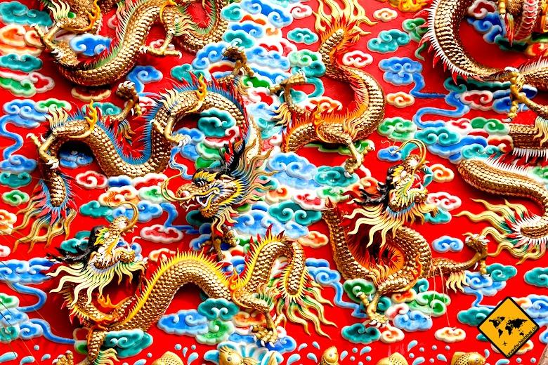 Koh Samui Sehenswürdigkeiten China Tempel
