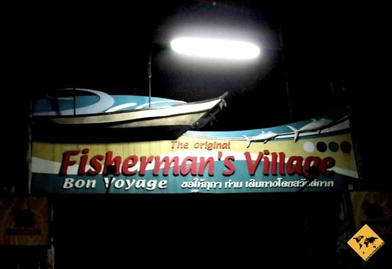 Koh Samui Sehenswürdigkeiten Fishermans Village Bophut
