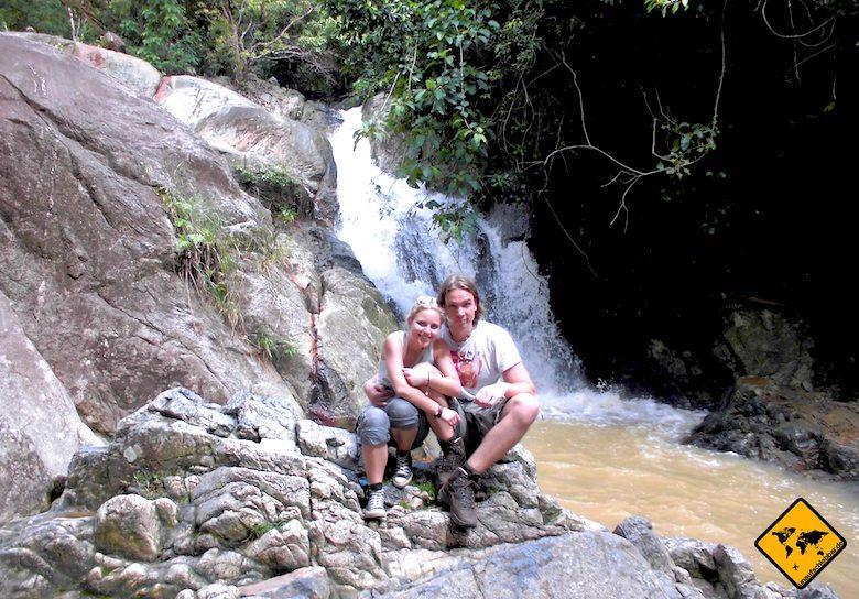 Koh Samui Sehenswürdigkeiten Na Muang Waterfall