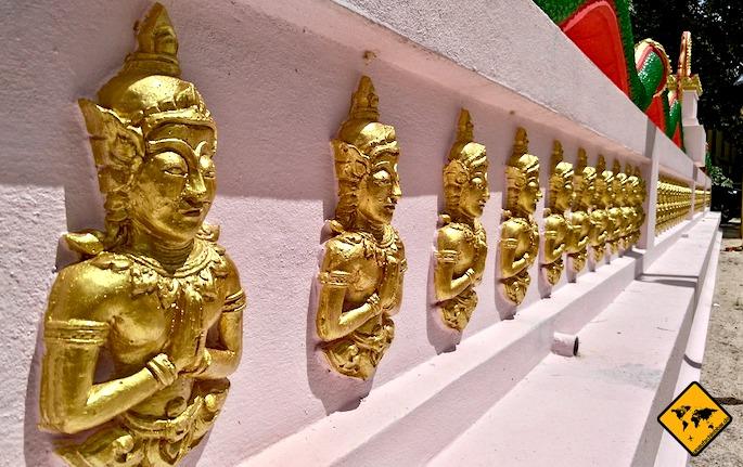 Koh Samui Sehenswürdigkeiten Wat Khiri Wongkaram