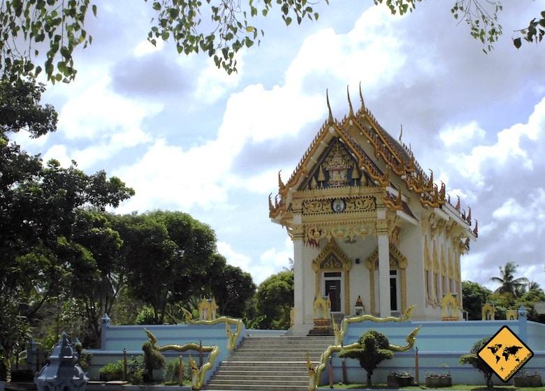 Koh Samui Sehenswürdigkeiten Wat Khunaram