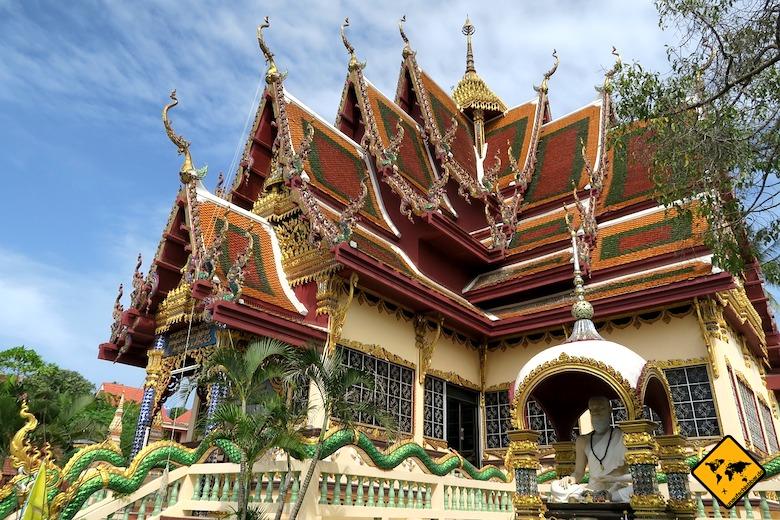 Koh Samui Sehenswürdigkeiten Wat Plai Laem