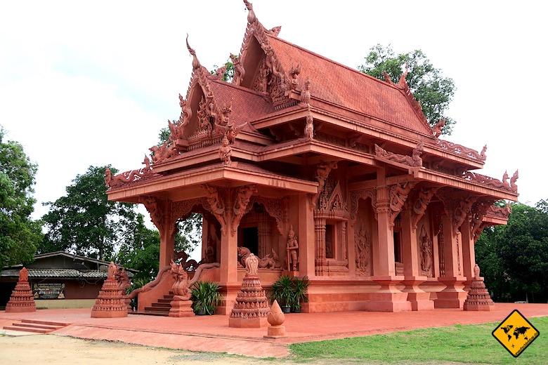 Koh Samui Sehenswürdigkeiten Wat Sila Ngu