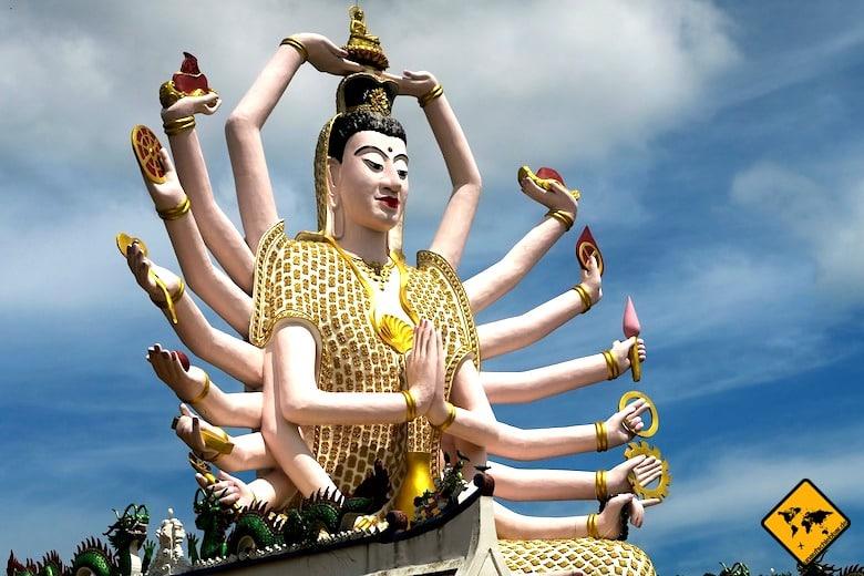 Koh Samui Sehenswürdigkeiten Yao Mae Kuan Im