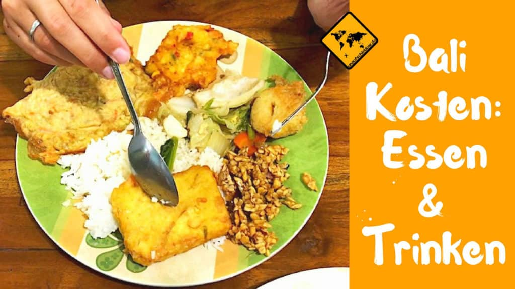 Kosten Bali Essen Trinken