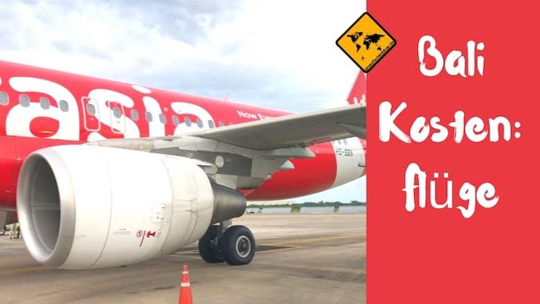 Kosten Bali Flüge