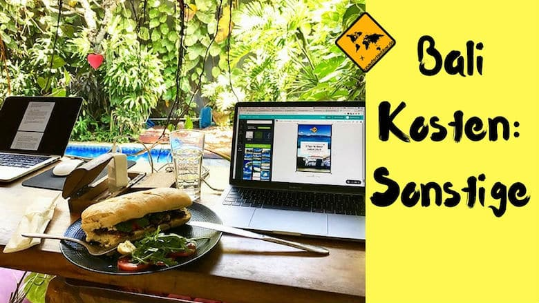 Kosten Bali Sonstiges