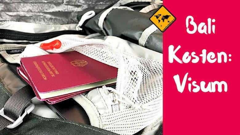 Kosten Bali Visum