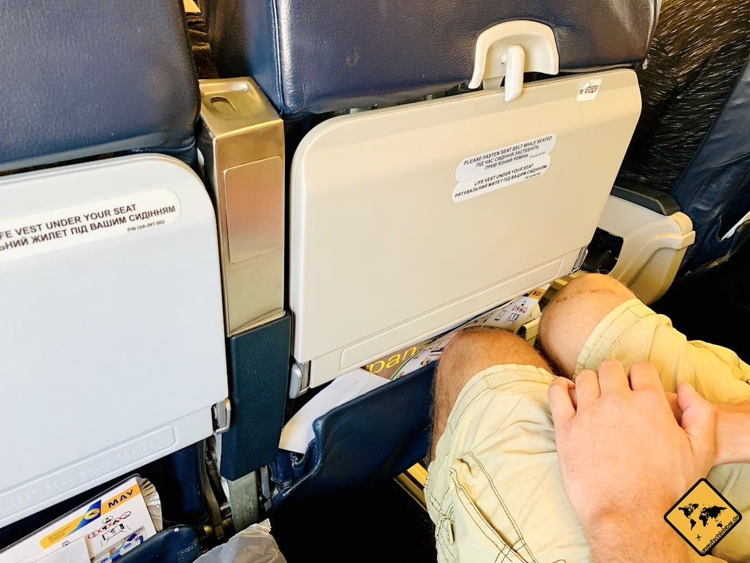Kosten Flug Sri Lanka UIA Beinfreiheit