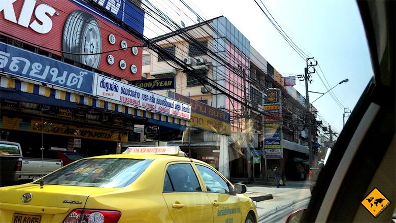 Kosten Thailand Taxi