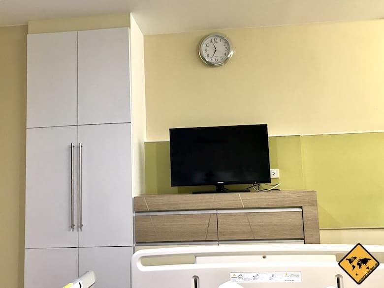 Lanna Hospital Chiang Mai Fernseher
