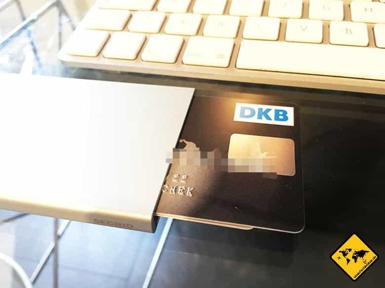 Kreditkarten Vergleich DKB Secrid Cardprotector