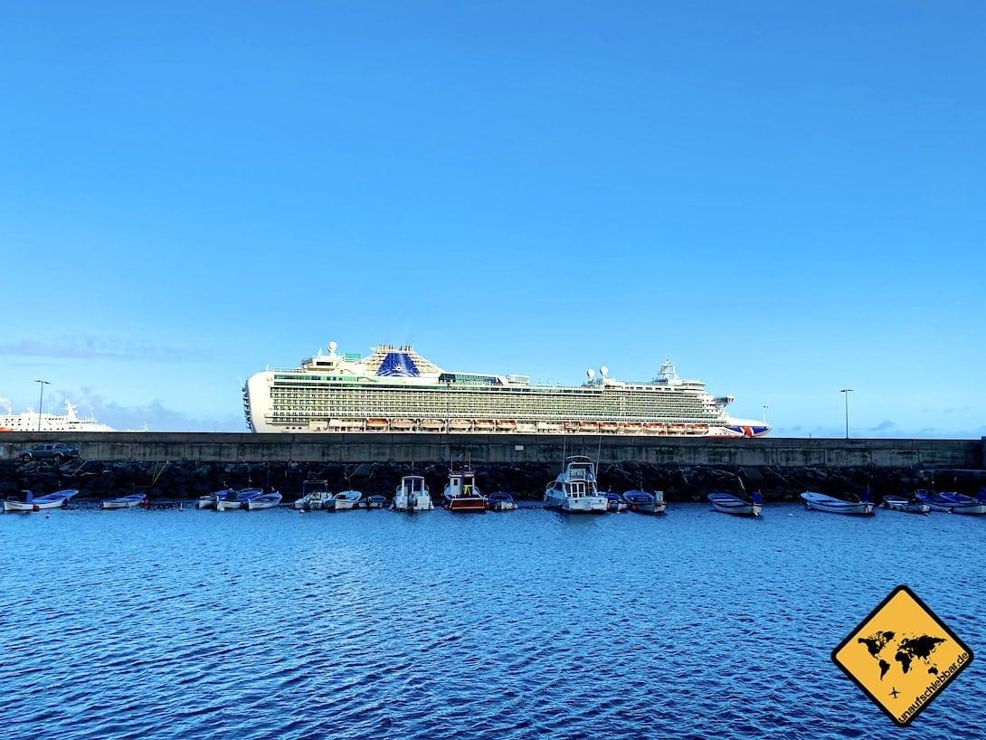 Kreuzfahrtschiff Santa Cruz Port