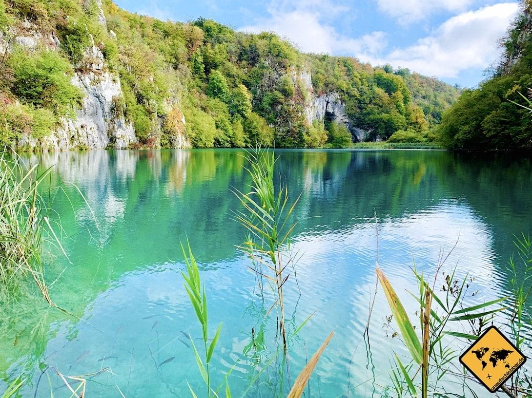 Kroatien Plitvicer Seen Wanderung