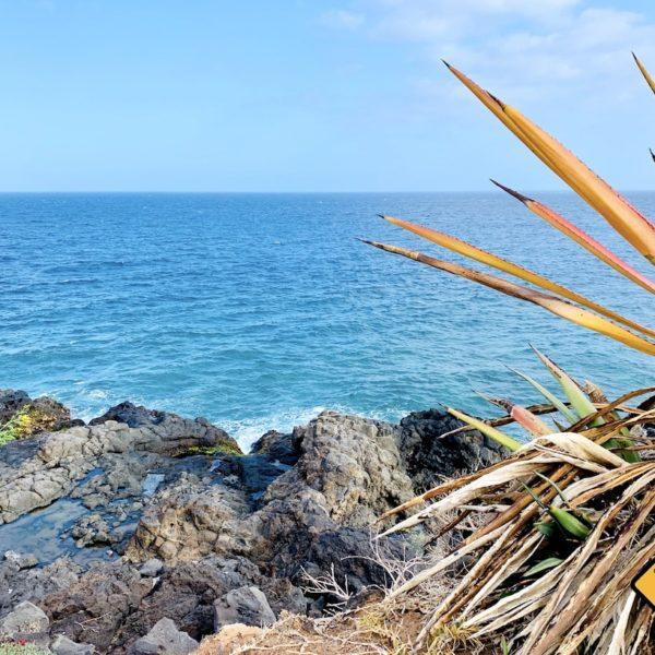 Küste Meer Playa Amarilla Costa del Silencio