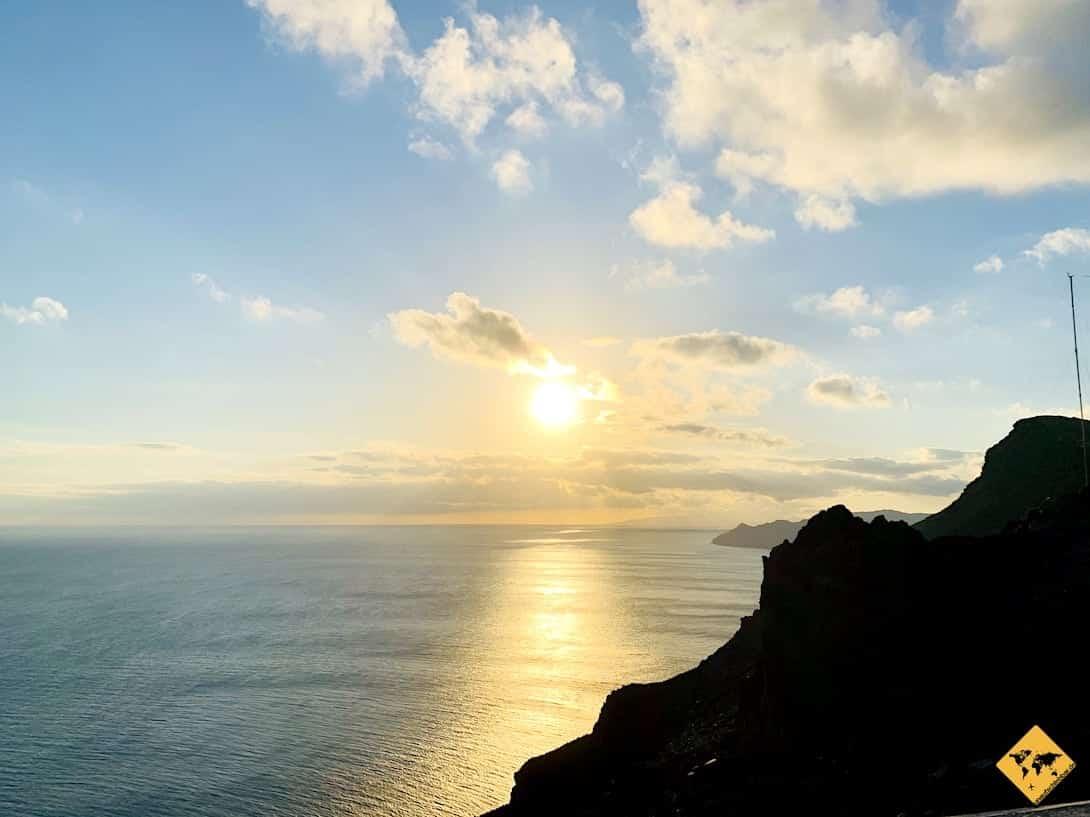 Küste Sonnenuntergang Las Playitas