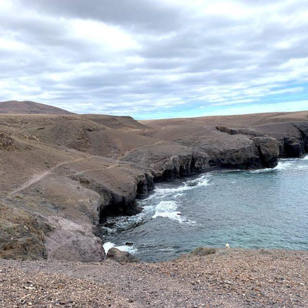 Küste wandern Playas de Papagayo