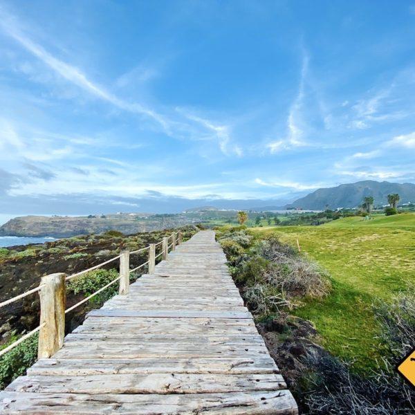 Küstenwanderweg Holzsteg Buenavista del Norte