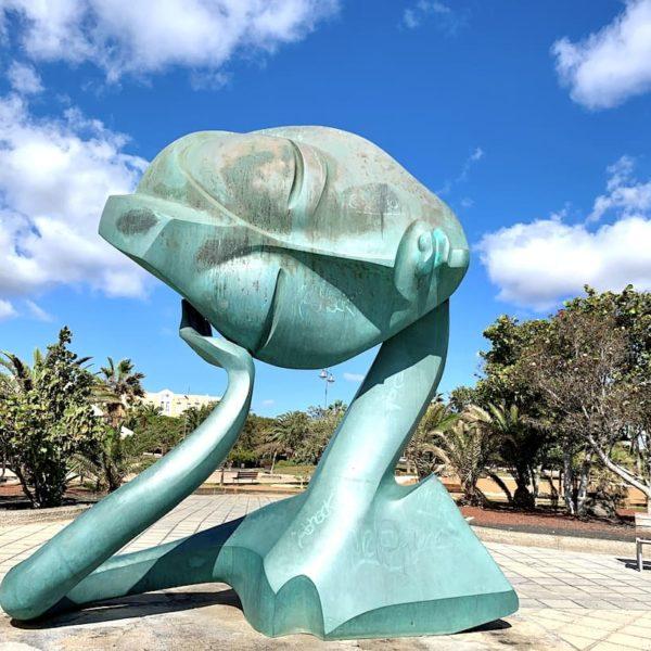 Kunst Lanzarote Arrecife Promenade Parque Temático