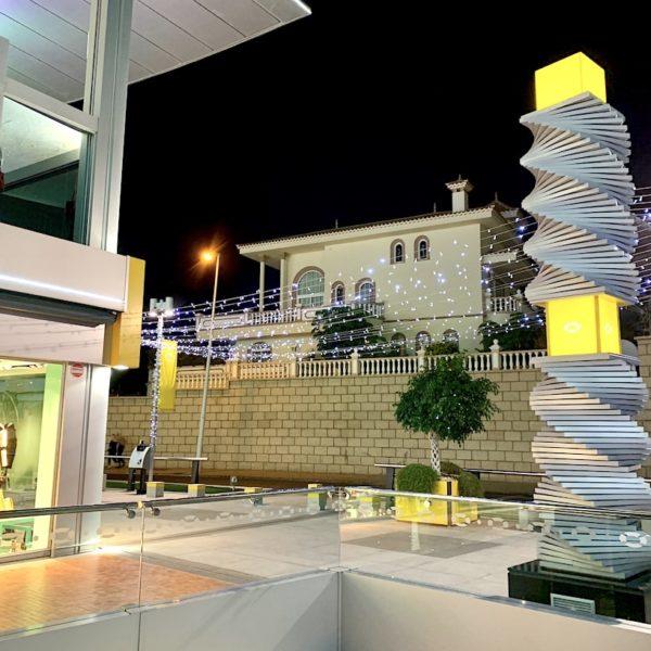 Kunst Licht Plaza del Duque Teneriffa