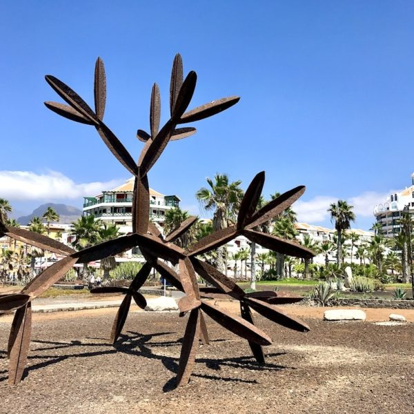 Kunst Playa de las Américas Teneriffa