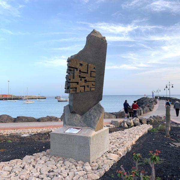 Kunst Promenade Puerto del Rosario