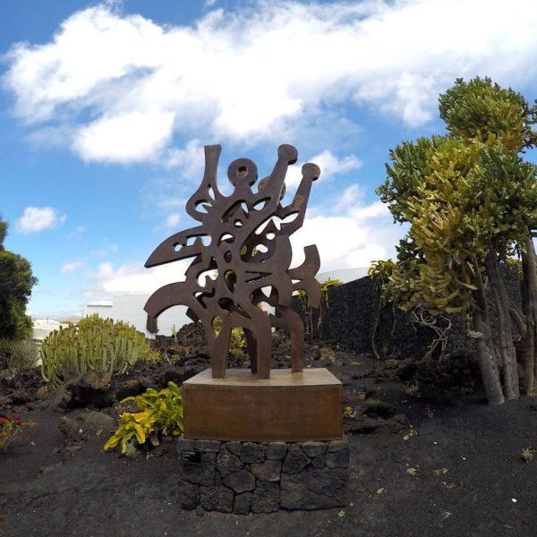 Kunst Skulptur César Manrique Stiftung Lanzarote