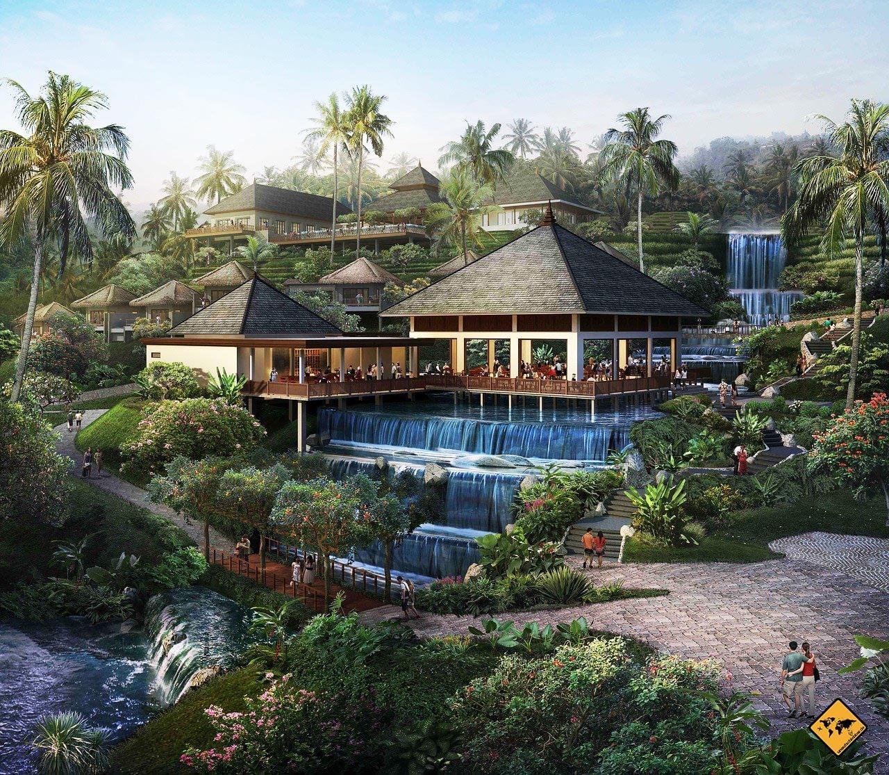 Kurs Mit Airbnb um die welt Officeflucht Bali Indonesien parallel zum Hauptbusiness